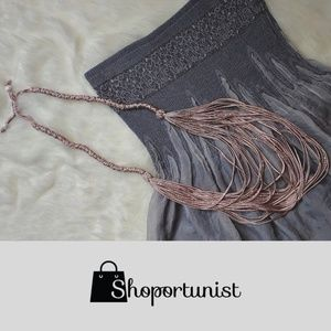 Jewelry - Rope Fashion Necklace